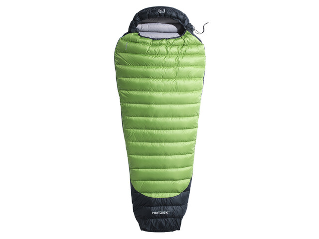 Nordisk Celsius Lite +4° Sleeping Bag M peridot green/black